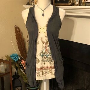 Decree Cotton Sleeveless Vest (B3)